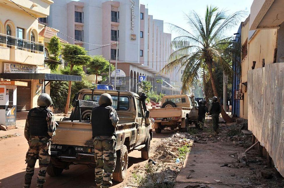 Захоплення заручників у Малі