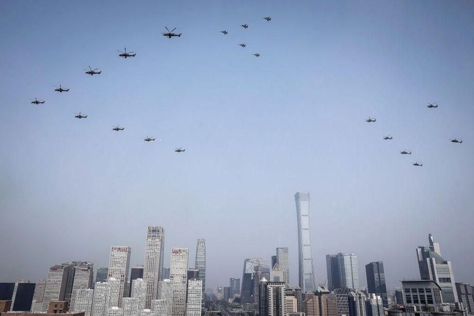 Китайські ударні вертольоти російського походження на параді