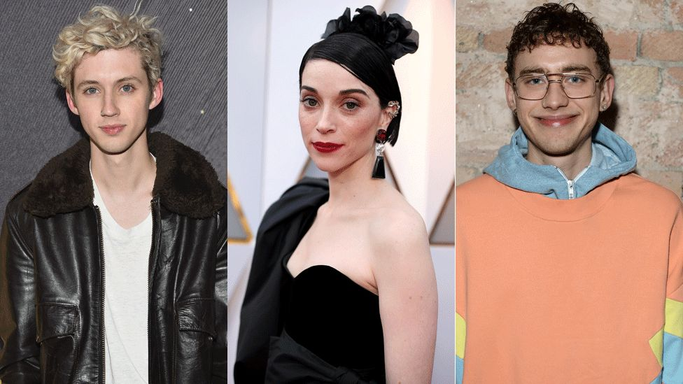 Troye Sivan, St Vincent and Olly Alexander