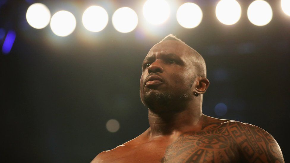 Dillian Whyte in the ring