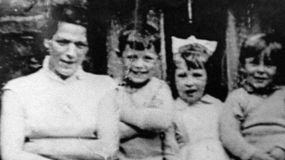 Jean McConville and children
