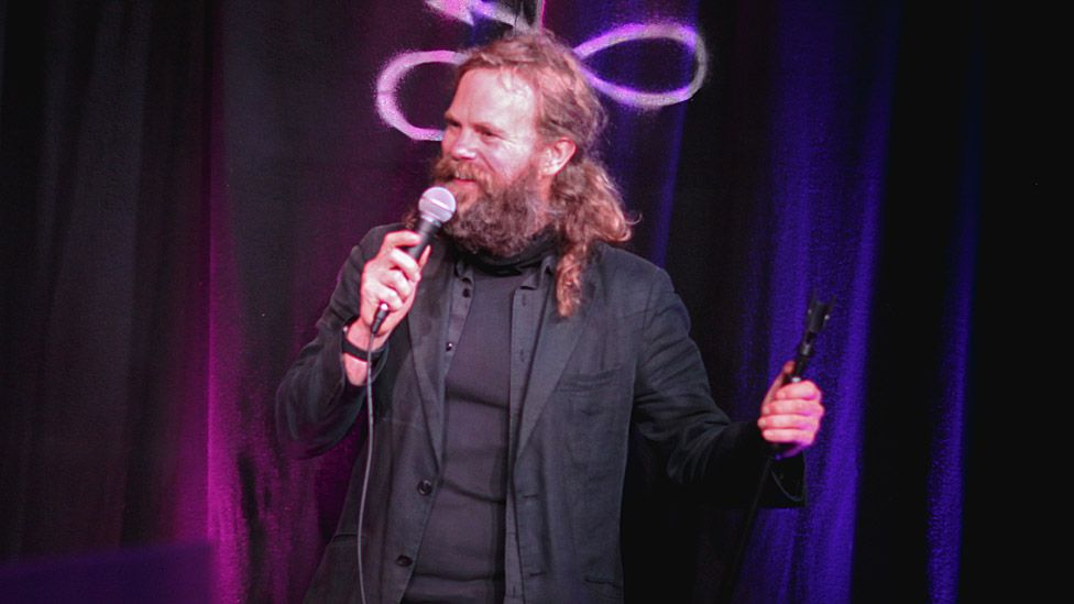 Barry Ferns at the Angel Comedy Club