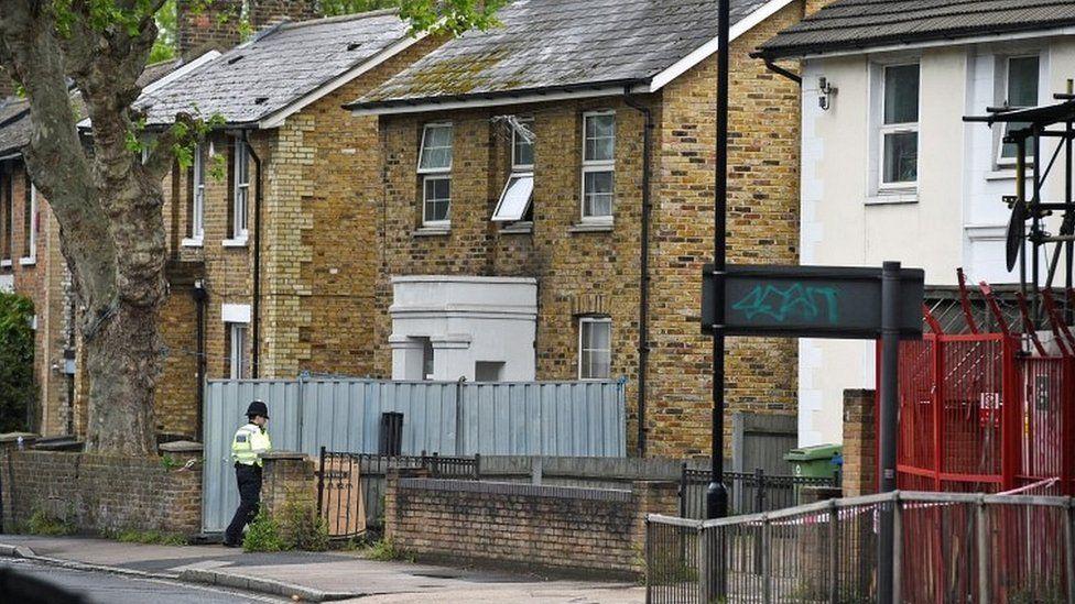 House where Sarah Johnson was shot