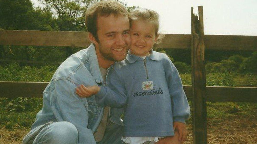 Jamie and her father