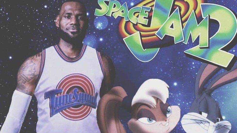 Space Jam 2 finally gets a release date - BBC News