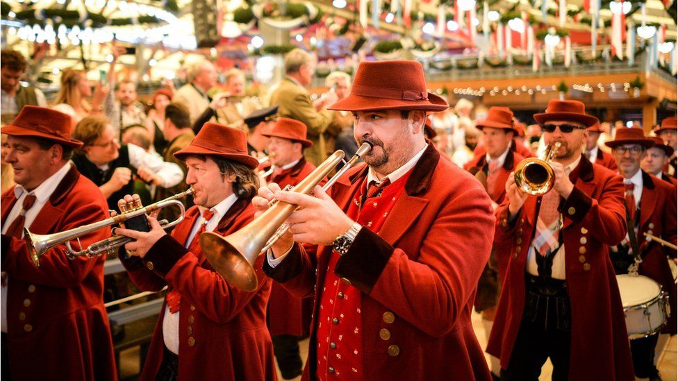 marching bands feature at the event