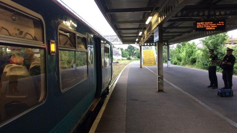 Tenby train station