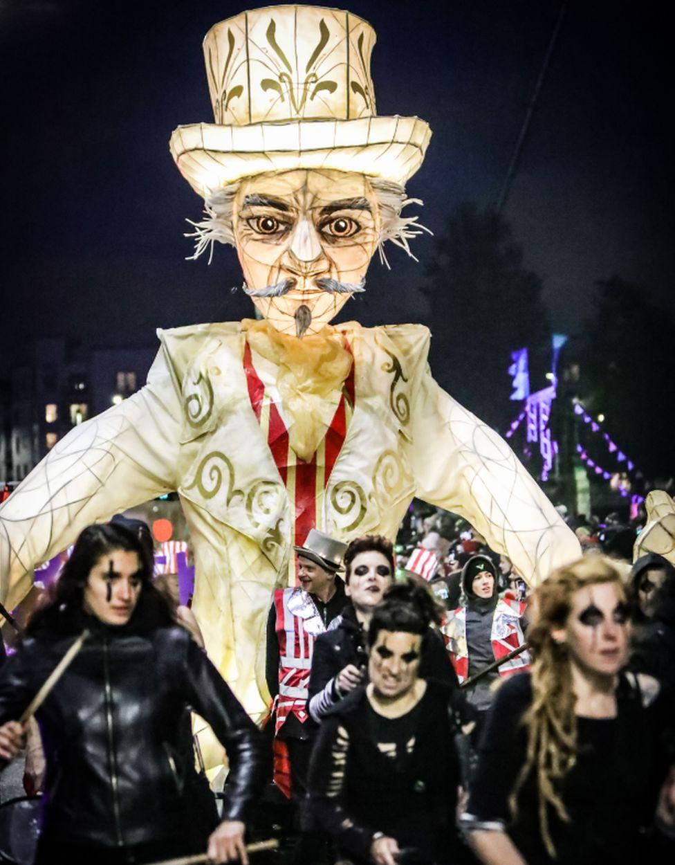 Paisley Halloween Festival parade