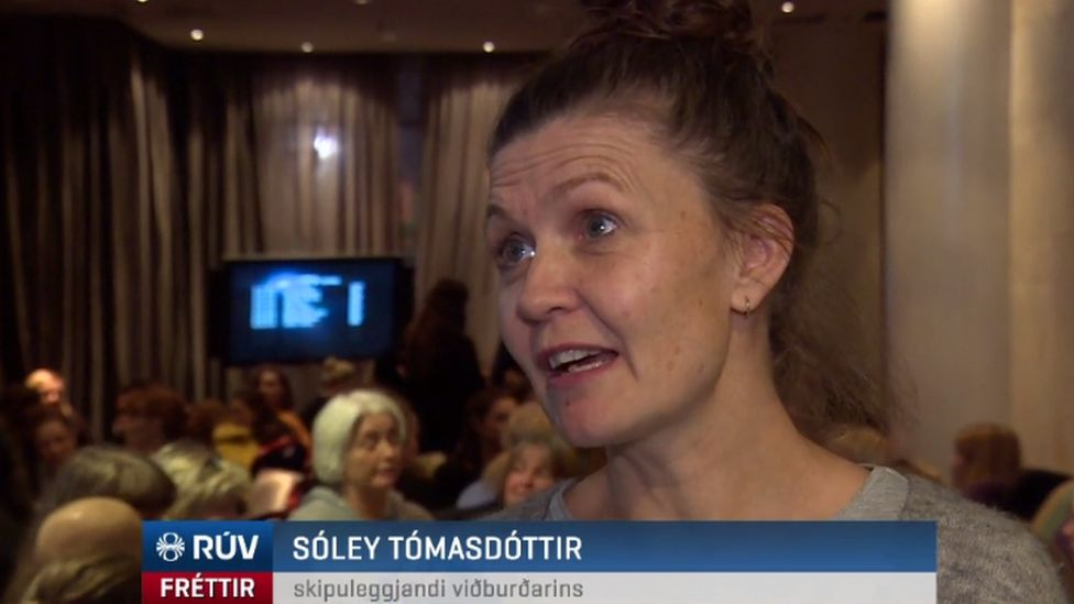 Icelandic politician Soley Tomasdottir