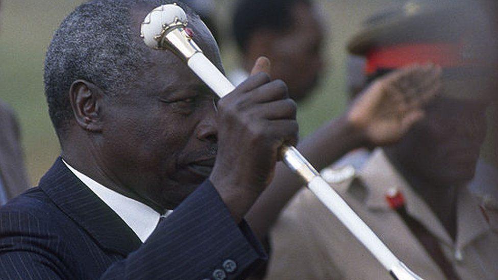 Daniel arap Moi in 1989