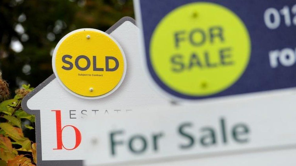 House price growth at six-year low