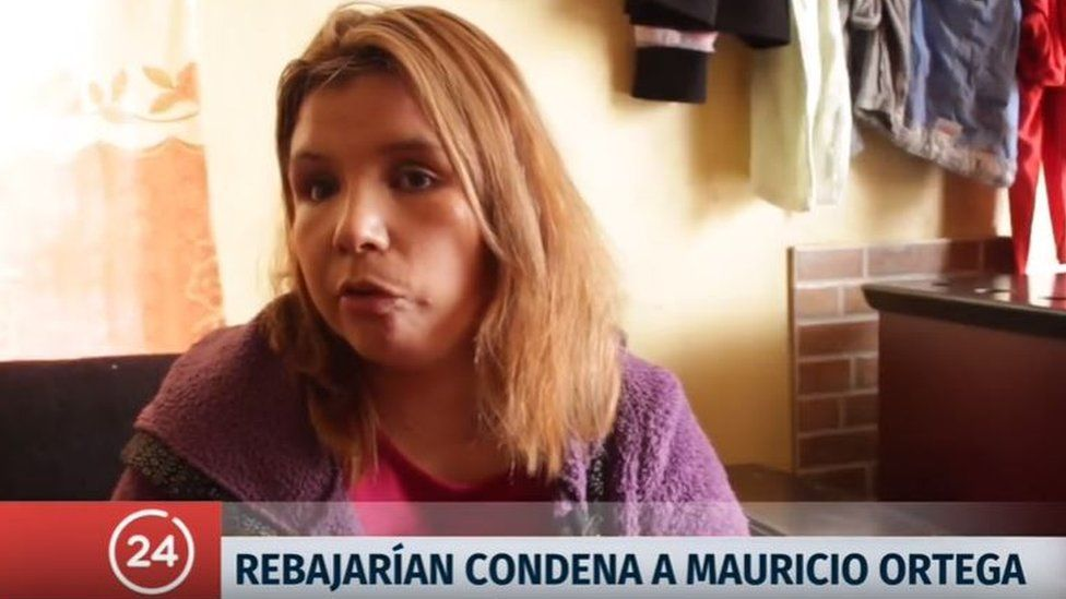 """""""It would be mockery of me if they reduced the sentence,"""" Nabila Rifo had told Chile's 24 Horas news show"""