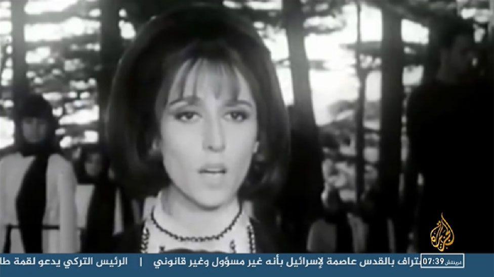Screengrab from Al Jazeera TV