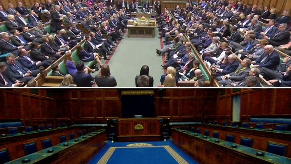 Westminster and Stormont chambers