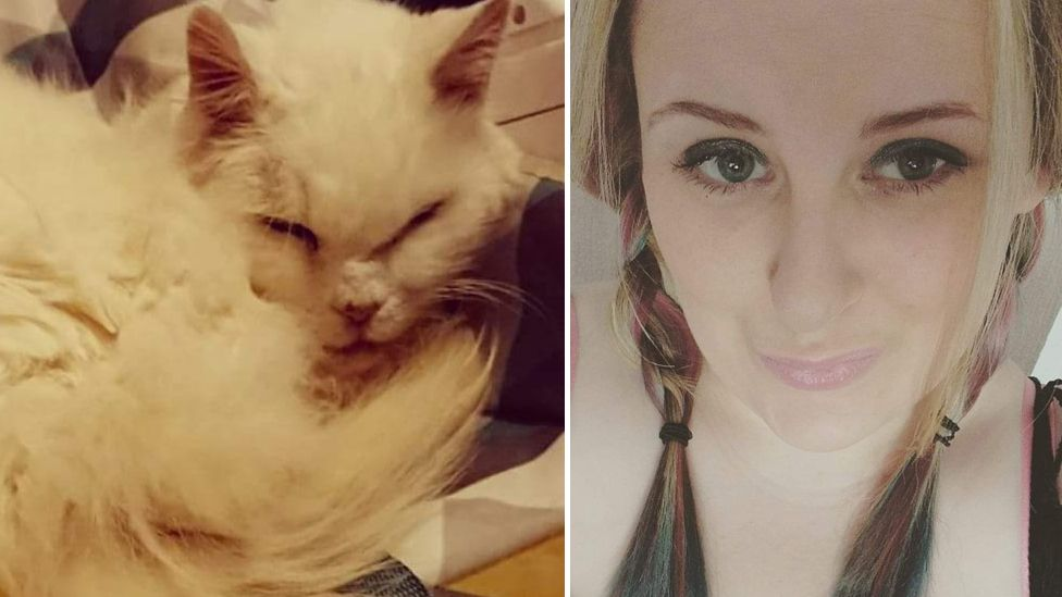 Cassandra Davies said she was threatened with eviction after her landlord found a cat in her home
