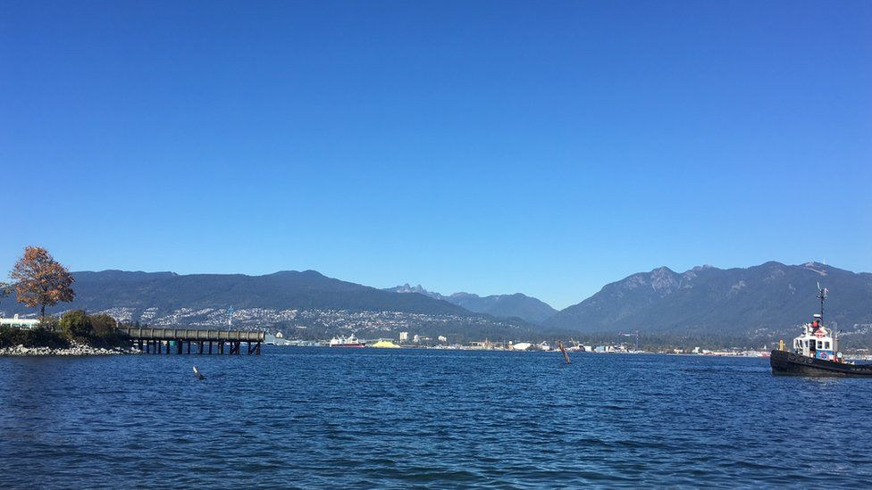 Vancouver's coastline