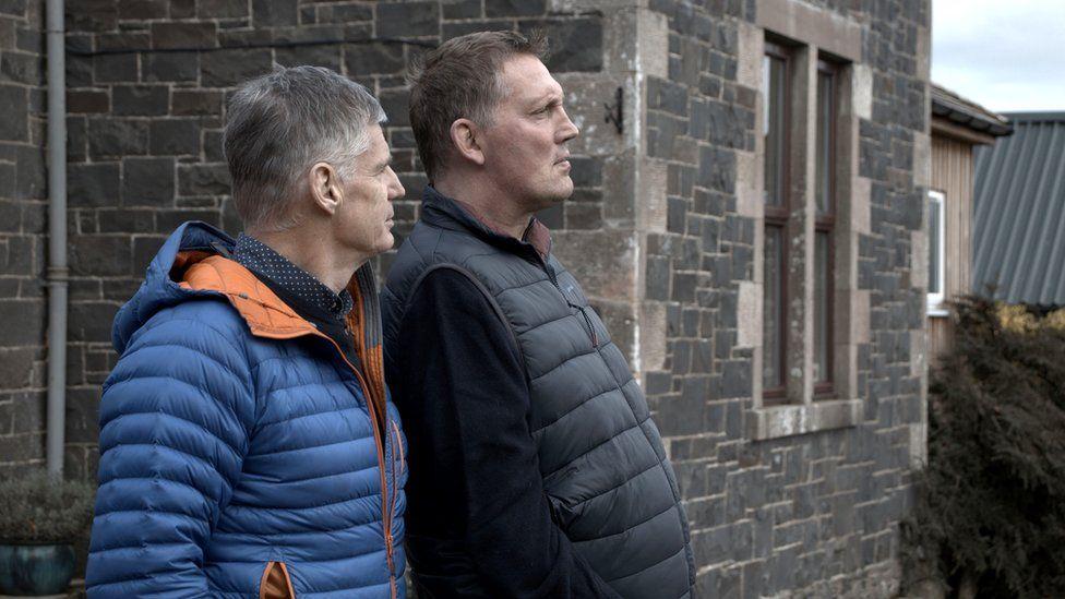 John Beattie and Doddie Weir