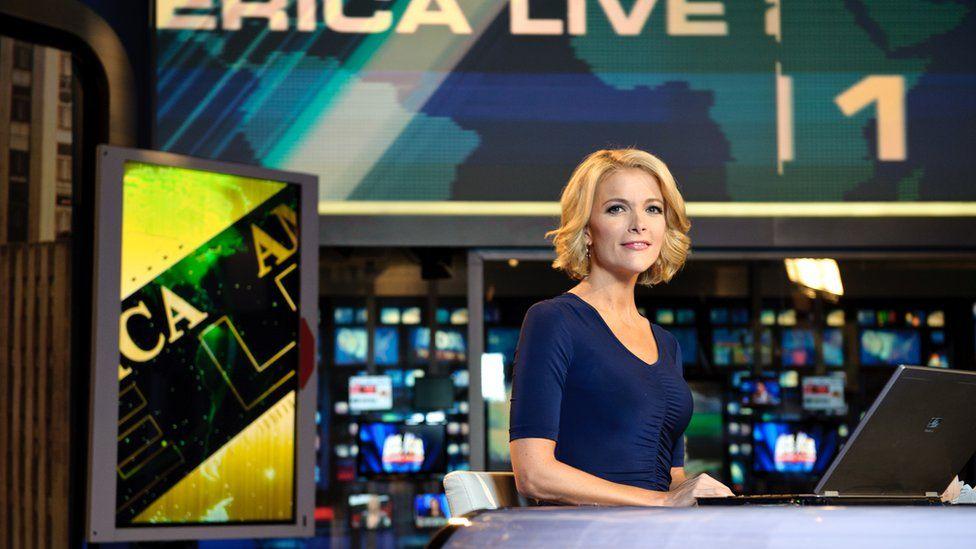 Megyn Kelly presenting on Fox News