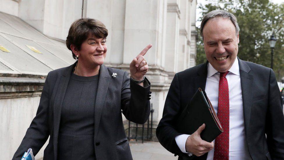 Arlene and Nigel Dodds