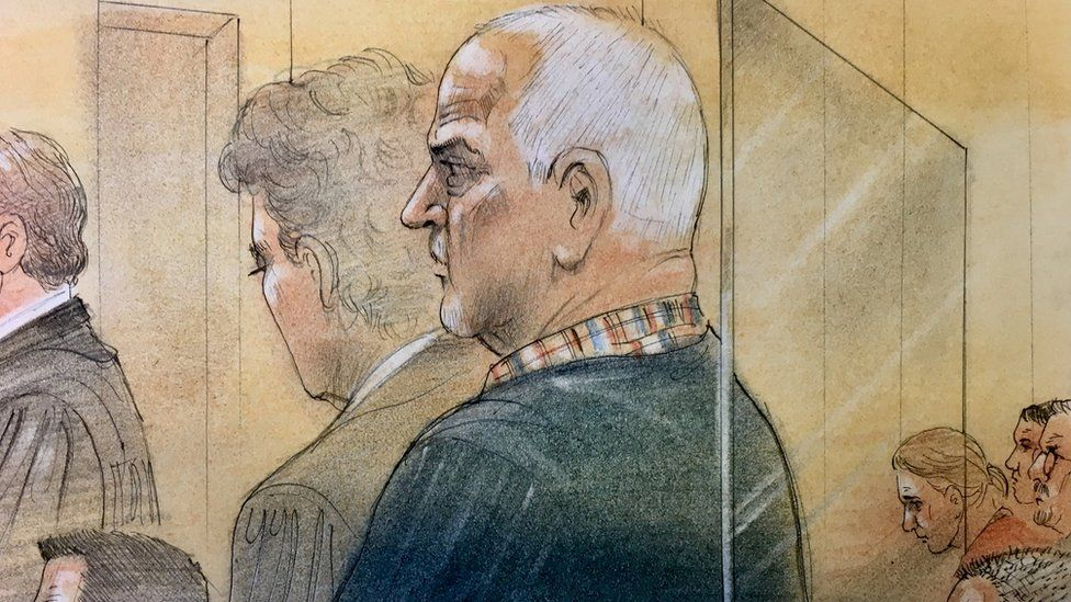 Bruce McArthur appeared in court
