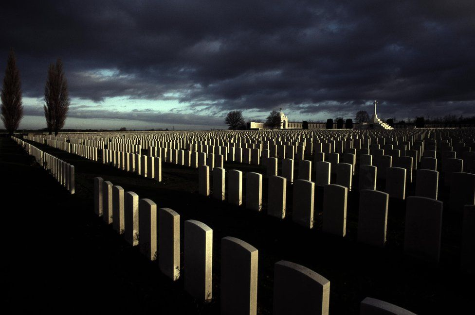Marking the memories of a million service personnel
