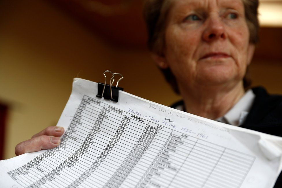 Catherine Corless collated hundreds of death certificates for the infants who died in the home