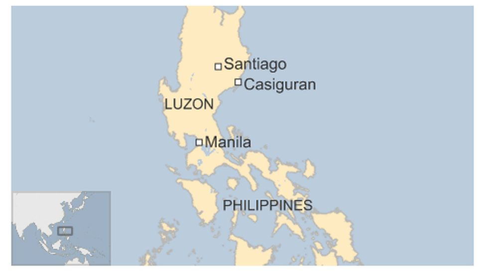 Map of Philippines