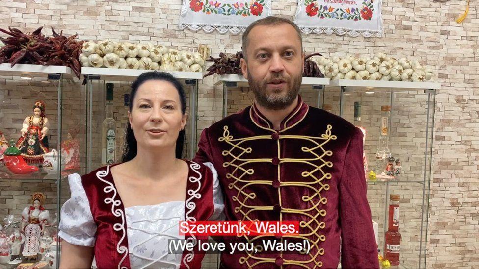 Hungary's video