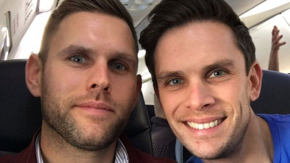 Stuart Hill (left) and his brother Jason Hill