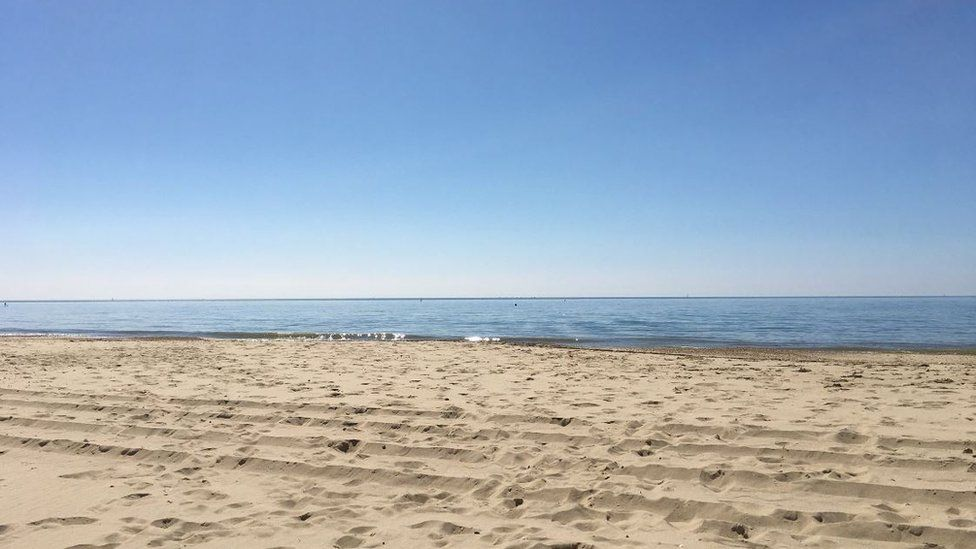 Beach in Bournemouth
