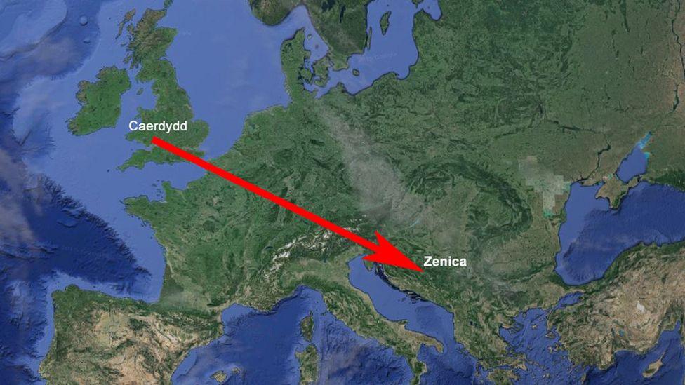 Map Ewrop