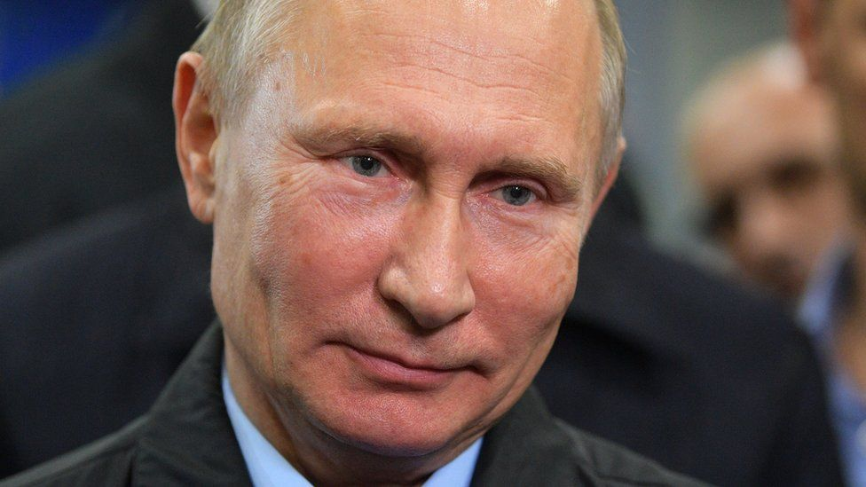 Vladimir Putin - 9 November