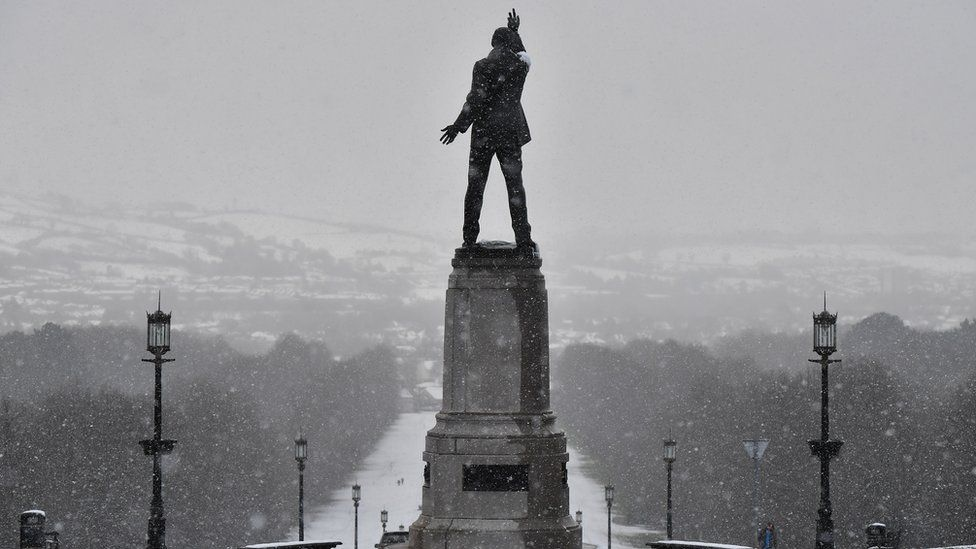 Stormont in winter