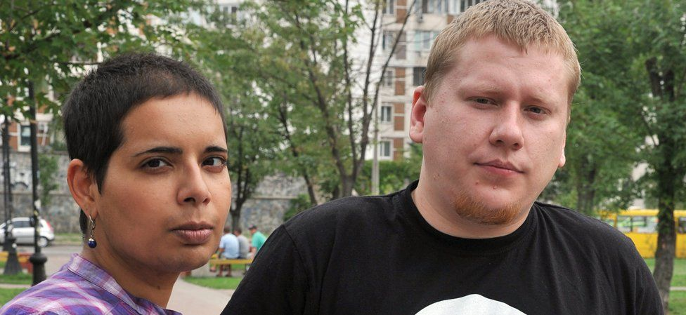 Jenny Curpen with Alexei Devyatkin, 23 Aug 2012