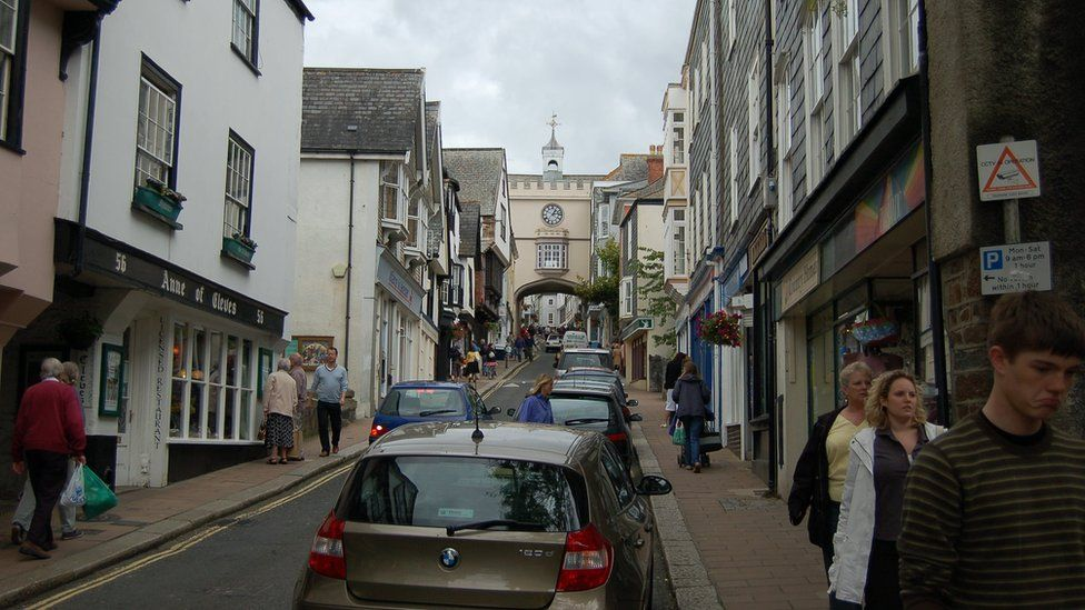 Totnes in Devon