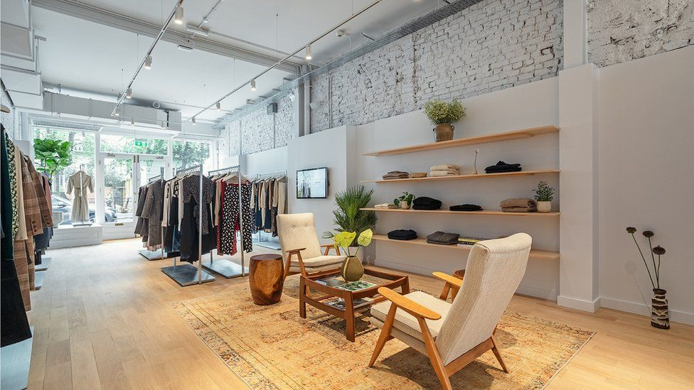 inside a shop