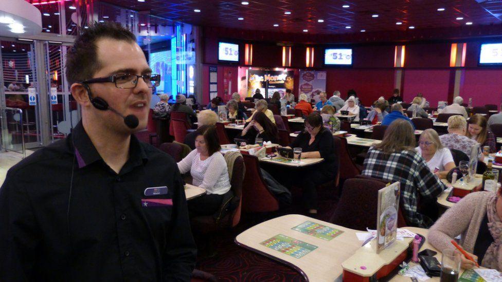 bingo caller in Nottingham