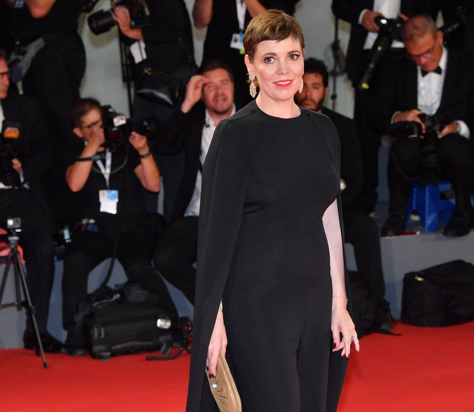 Olivia Colman at the Venice Film Festival
