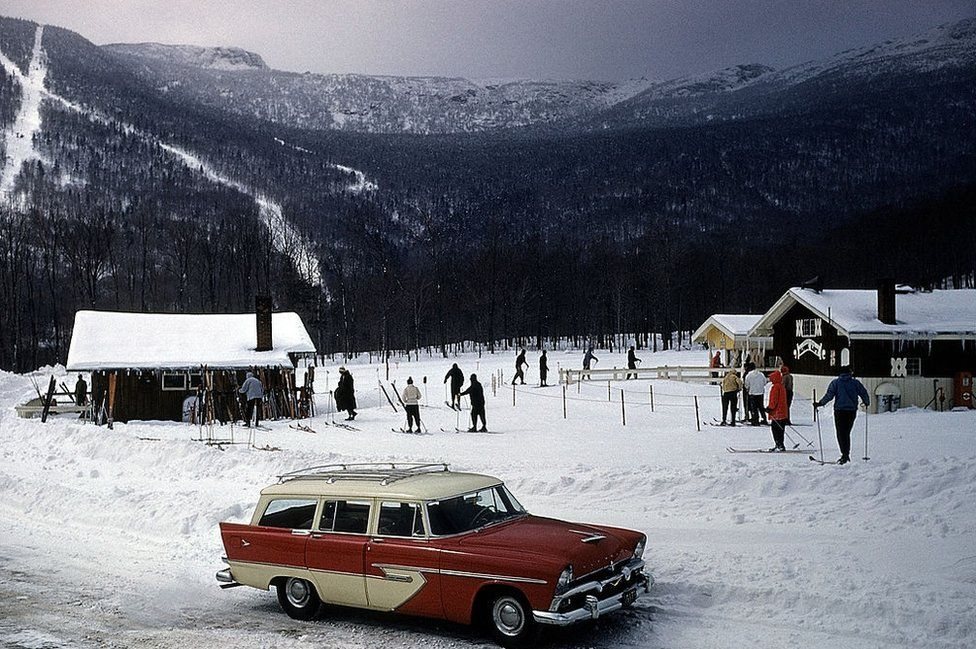 Stowe, Vermont, circa March 1956 (FILE)