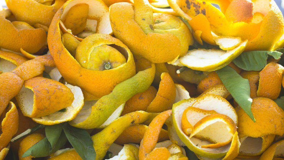 Orange peel in Morocco