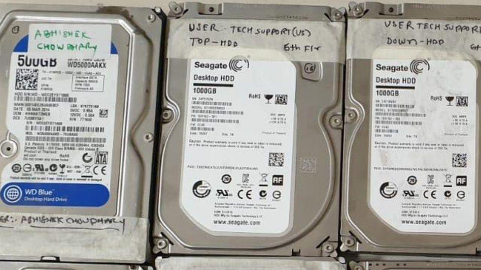 hard drives
