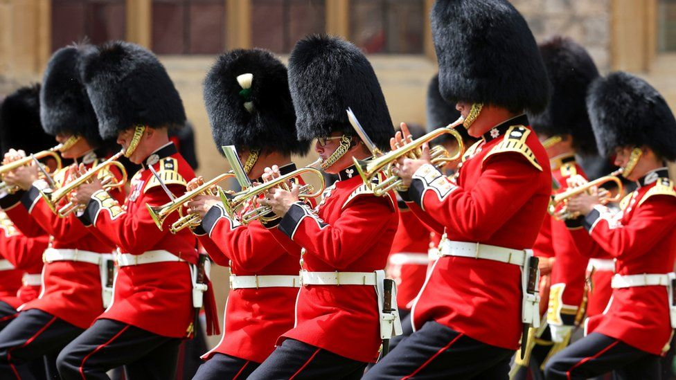 The event at Windsor Castle replaces the ceremony normally staged in central London
