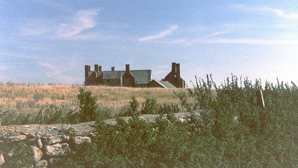 Sker House, pictured in 1998
