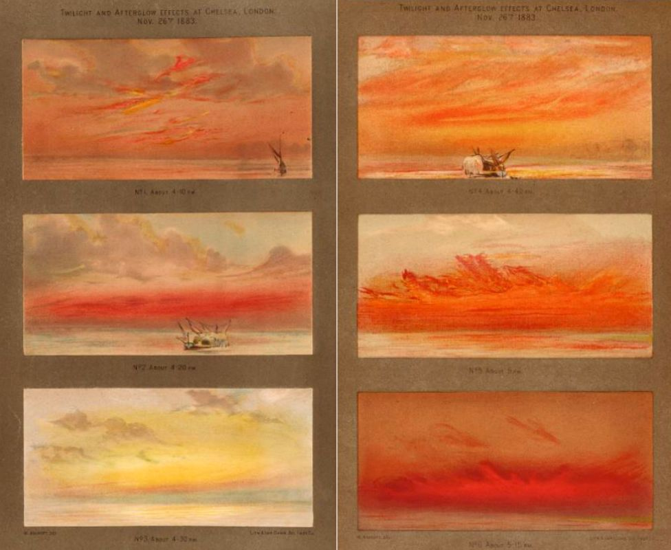 Sunset drawings