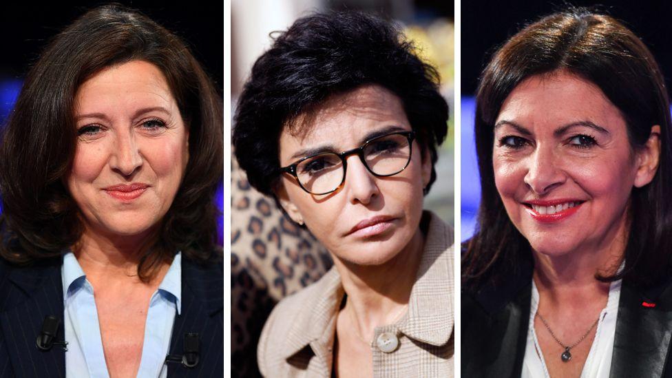 Candidates for Paris mayor: Agnès Buzyn, Rachida Dati and the incumbent, Anne Hidalgo