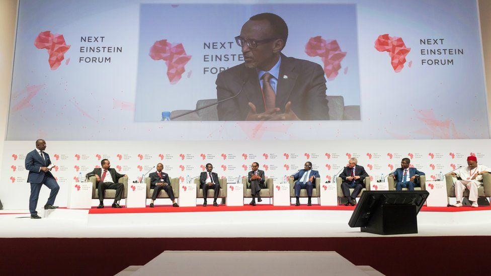 A panel at the forum