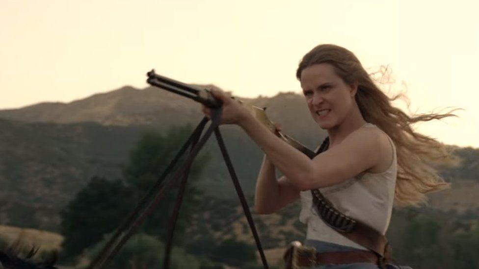 Rachel Evan Wood in Westworld