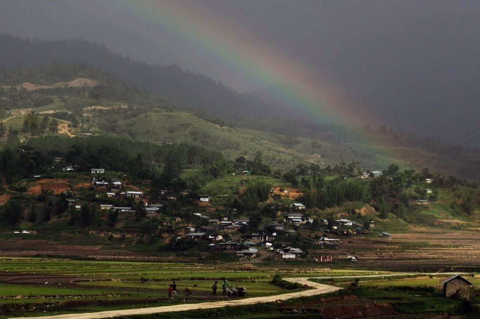 Manipur, a hilly north-eastern state on the border with Myanmar