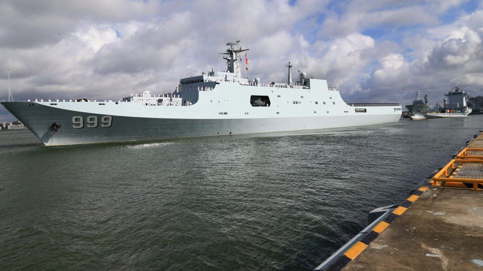 China navy ship