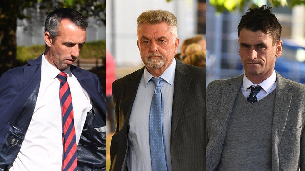 Mark Evill, Robert Howells a Michael Cope